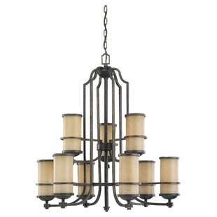 Darby Home Co Bale 9-Light Shaded Chandelier