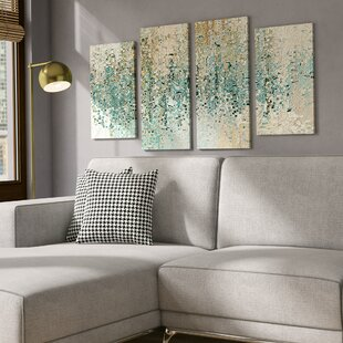 Revealed 4 Piece Framed Gallery Wall Set On Canvas
