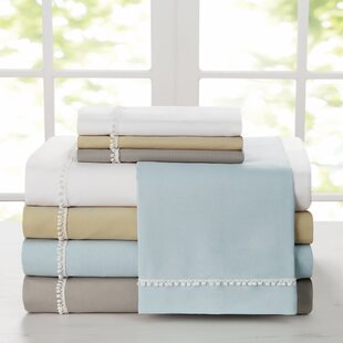 Capel Pom-Pom Solid Sheet Set