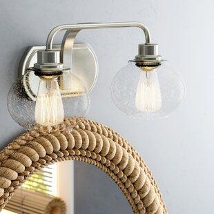 Beachcrest Home Braxton 2-Light Vanity Light