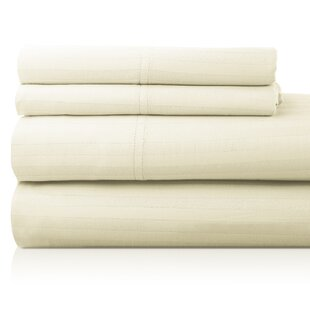 Luxor Linens Valentino 4 Piece 1200 Thread Count Egyptian Quality Cotton Sheet Set