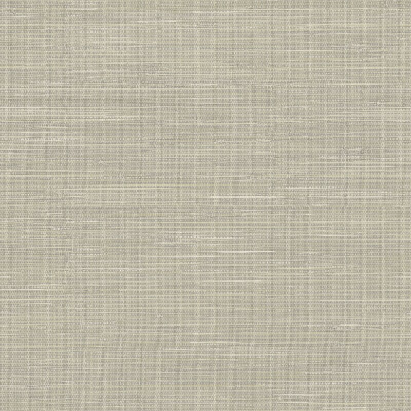 "Grasscloth Peel and Stick 18' x 20.5"" Wallpaper Roll"