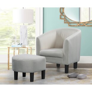 Aghacully Armchair and Ottoman by Winston Porter