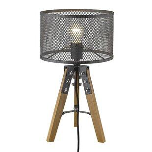 Tindall 1-Light 20 Tripod Table Lamp