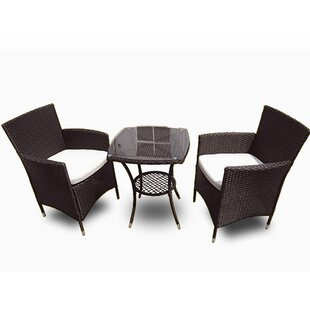 Kensington 3 Piece Bistro Dining Set by Vandue Corporation