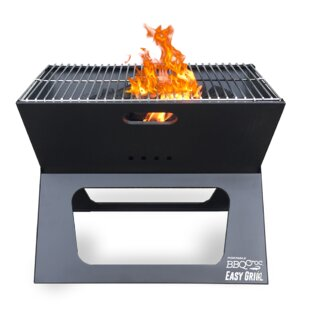 19 BBQ Croc Portable Charcoal Grill by Imperial Home