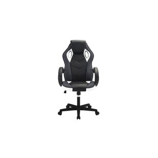 Minta High Back Executive Chair by Wrought Studio Best Choices