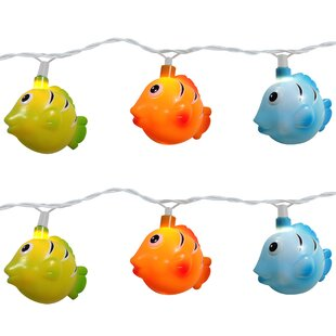 The Holiday Aisle Fish 10 Light Novelty String Light