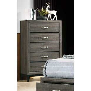Bonner 5 Drawer Chest by Cozzy Design