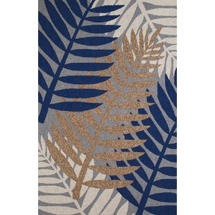 Sunbelt Hand-Woven Gray/Blue Indoor/Outdoor Area Rug