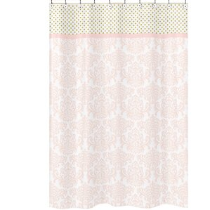 pale pink shower curtain. Amelia Cotton Shower Curtain Pink Curtains You ll Love
