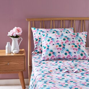 bluebellgray Sanna 100% Cotton Sheet Set