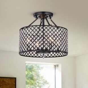 Leyton 4-Light Semi Flush Mount by Rosdorf Park