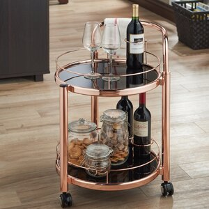 Glenoe Serving Bar Cart
