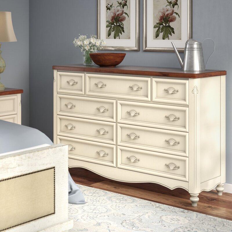 One Allium Way Brecon 9 Drawer Dresser