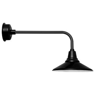 Read Reviews Calla 1-Light Outdoor Barn Light By Cocoweb