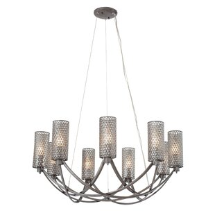 Wrought Studio Janay 9-Light Shaded Chandelier