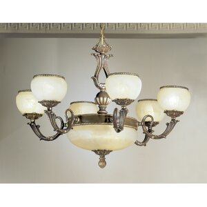 Alexandria II 9-Light Shaded Chandelier