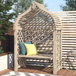 Rondeau Wooden Arbour By Sol 72 Outdoor