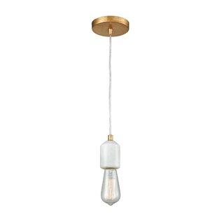Orren Ellis Stowe 1-Light Bulb Pendant