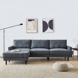 104 Reversible Sleeper Corner Sectional with Ottoman by Keeplus