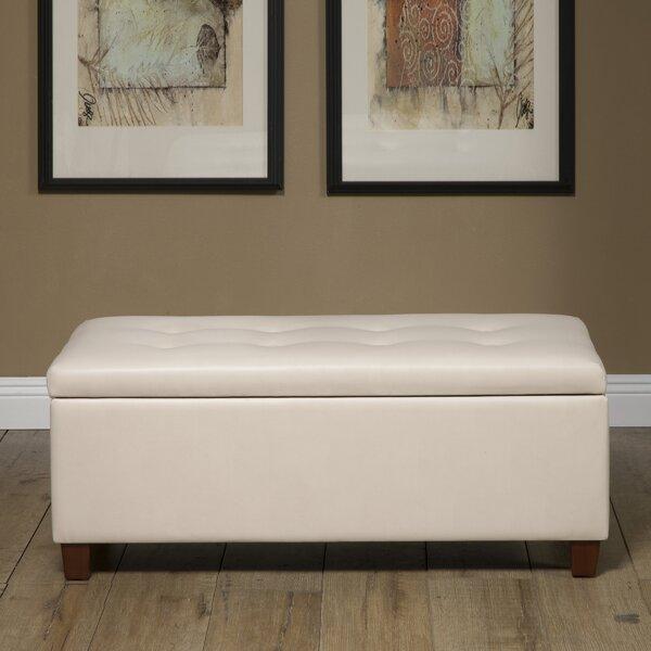 Tremendous Tamesbury Faux Leather Storage Bench Dailytribune Chair Design For Home Dailytribuneorg