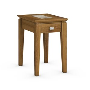 Caravel Galleon Chairside Table with Power Station