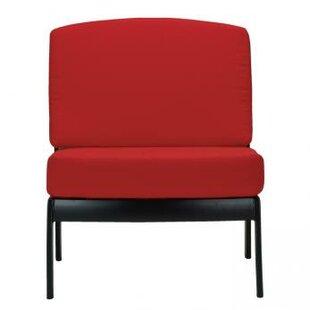 Tropitone South Beach Armless Module Chair with Cushion