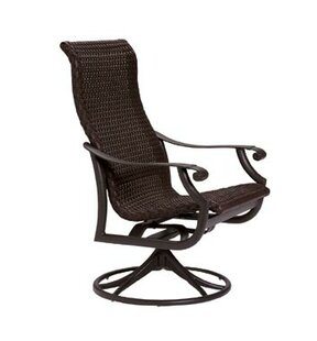 Montreux Swivel Patio Dining Chair by Tropitone Modern