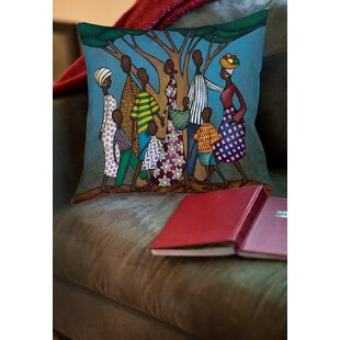 Family Tree Printed Throw Pillow