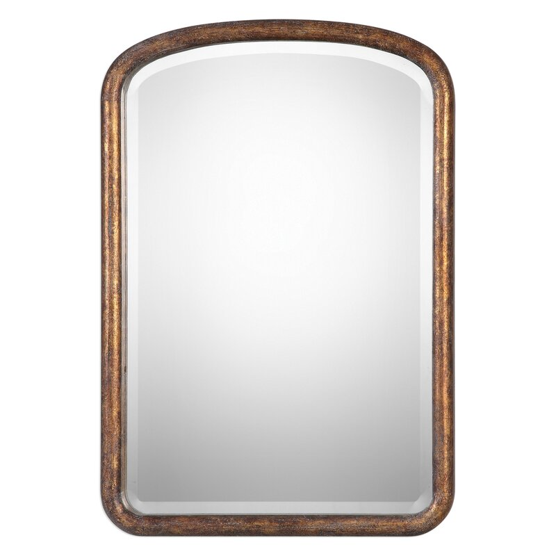 Rectangle Wood Wall Mirror