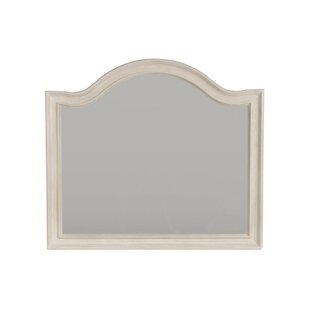 Trenton Arched Wood Framed Dresser Mirror