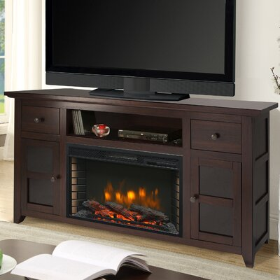 Find The Perfect 50 59 Inch Brown Tv Stand Fireplaces