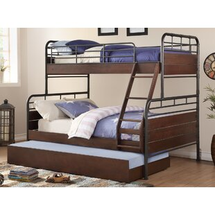 Harriet Bee Karon Twin over Full Bunk Bed with Trundle