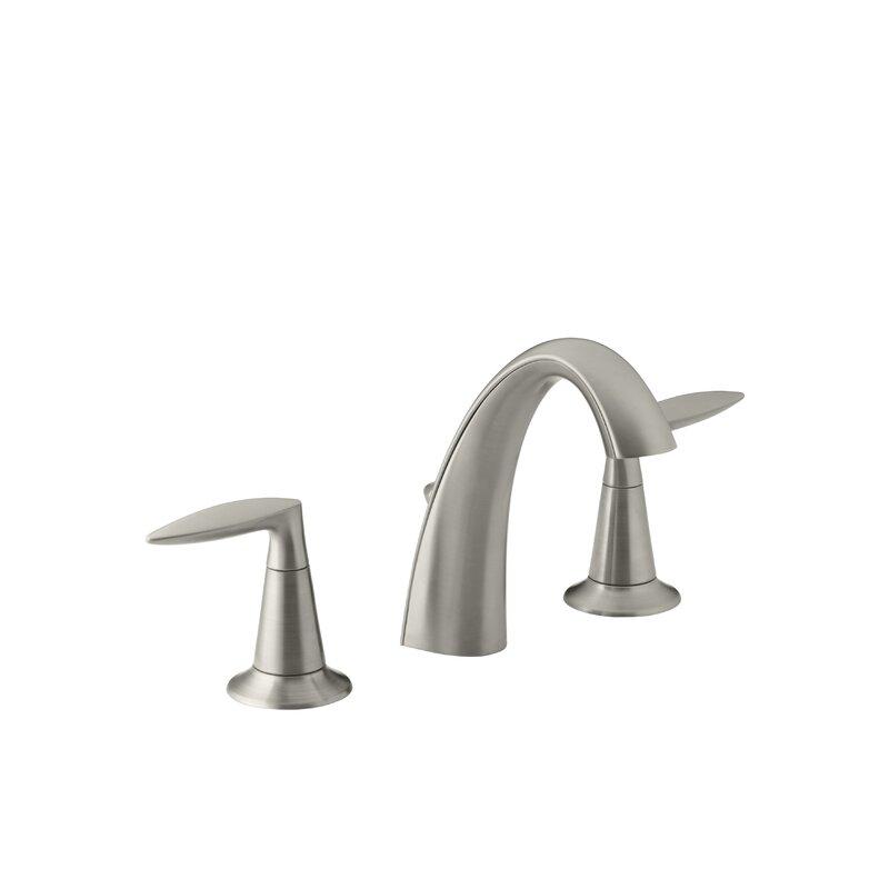 K 45102 4 2bz bn cp kohler alteo widespread bathroom sink faucet with drain assembly reviews for Kohler alteo widespread bathroom faucet