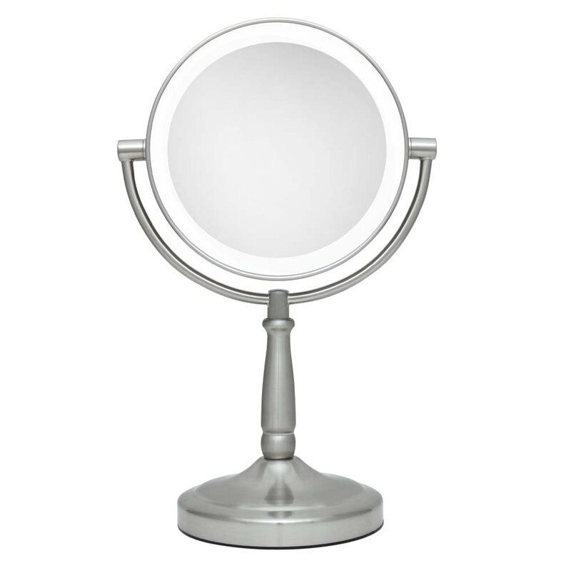 Vanity Mirror with LED Surround Light #makeup #mirror #vanity #lighted