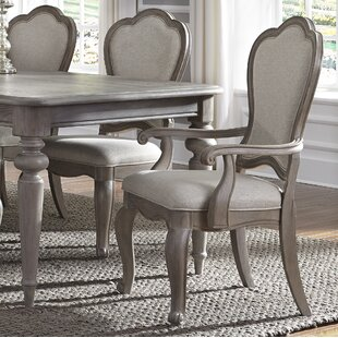 Lemay Upholstered Dining Chair (Set of 2) Ophelia & Co.