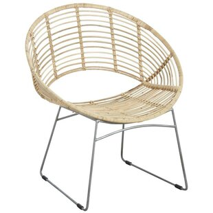 Blythen Round Natural Tub Chair By Bay Isle Home
