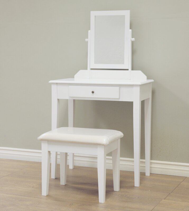 Marvellous Vanity Mirror And Chair Set Gallery - Best Inspiration .