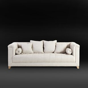 Loft Button Tufted Chesterfield Sofa by Magari