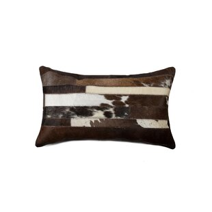 Southam Cowhide Lumbar Pillow