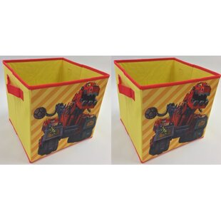 Great Price Dinotrux Collapsible Storage Cubes (Set of 2) By Linen Depot Direct
