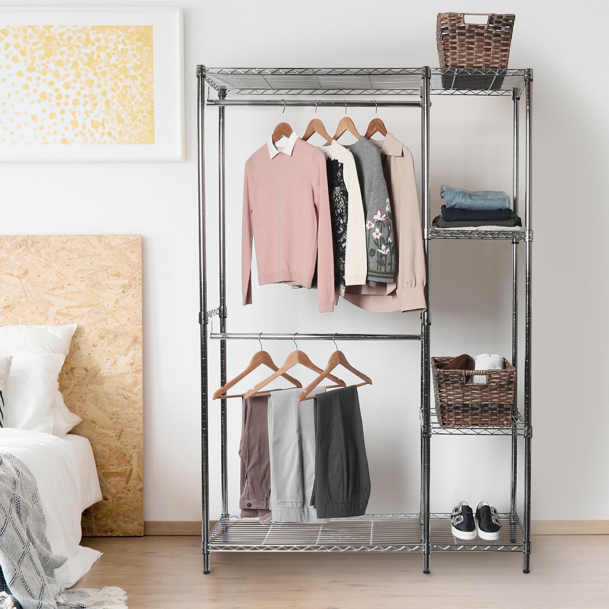 48 Steel Wire Adjule Garment Rack
