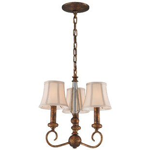 Charlton Home Cockermouth 3-Light Shaded Chandelier