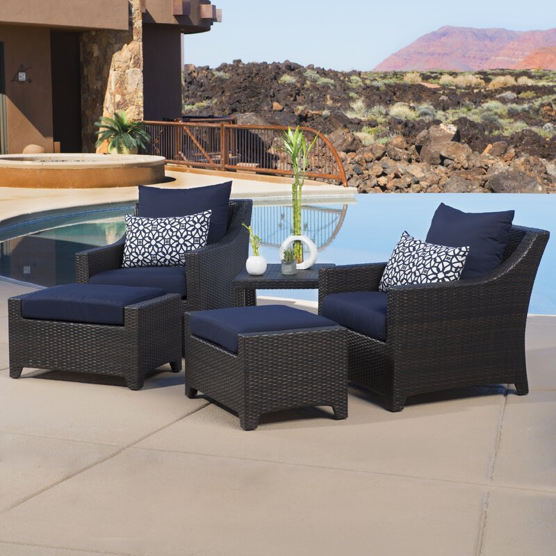 High Quality Northridge 5 Piece Deep Seating Group With Cushions