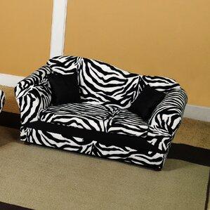 Wave Kids Club Faux Fur Sofa by Keet