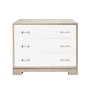 3 Drawer Accent Chest by Worlds Away SKU:DD863184 Order