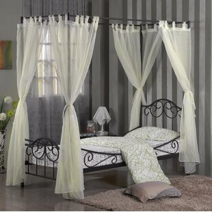 Four Poster Bed Drapes Wayfair Co Uk