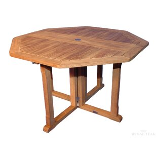Folding Solid Wood Dining Table by Regal ..