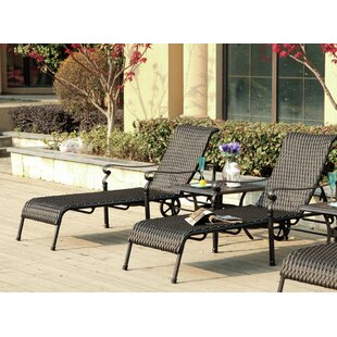 Darby Home Co Kentland 3 Piece Chaise Lounge Set